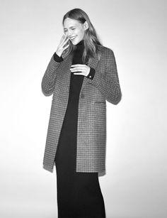 Sasha Pivovarova Wears the Best of Zara's Winter 2016 Coats