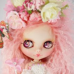 Custom Blythe Doll by ❤Super Doily❤ ~Butterfly~