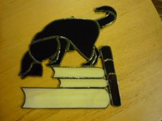 Library Cat...I may try to adapt this to Plastic Canvas