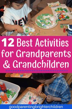 Here's how to be the best grandparent ever! 12 super fun activities for grandparents and grandchildren. Art, music, science, nature, cooking and more—these activities will forge a bond of love between grandparents and grandchildren that will last forever! #grandparents #grandchildren #activitiesfor #dayactivities #daycrafts #howtobethebest #mykidshavethebest Water Games For Kids, Indoor Activities For Kids, Creative Activities, Science For Kids, Preschool Activities, Crafts For Kids, Science Nature, Kids Educational Crafts, Science Crafts