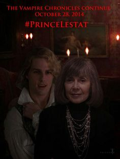 Anne Rice and Lestat