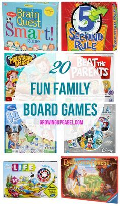 The kids live games. one game for all 3 of the Best Family Board Games for  a fun family game night! These make great Christmas gifts for kids!