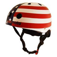 Achetez Casque Kiddimoto USA Flag chez deporvillage pour seulement 29,95€. Frais de port GRATUITS pour tout achat supérieur à 60€. Consultez les commentaires sur Casque Kiddimoto USA Flag online. Livraison en 24/48h.