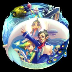 Tumblr [The Legend of Zelda: Phantom Hourglass] --- THE WIND WAKER --- SPIRIT TRACKS