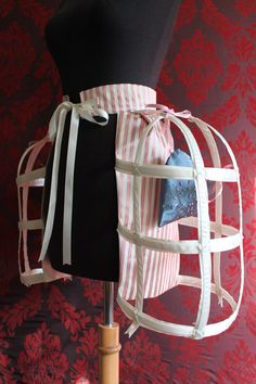 Marie's Secret Heart Pocket Pannier Version II - To order Tea Party Table, Spanish Dress, 18th Century Fashion, Period Costumes, Vintage Couture, Satin Slip, Costume Makeup, Marie Antoinette, Historical Clothing