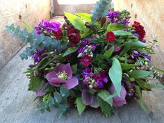 Wintry toned bouquet Our Wedding, Wedding Flowers, Bouquet, Plants, Bouquet Of Flowers, Bouquets, Plant, Floral Arrangements, Planets