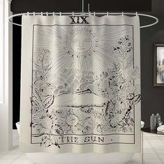 Bohemian Shower Curtain, Cute Shower Curtains, Colorful Shower Curtain, Shower Curtain Sizes, Gothic Bathroom Decor, Eclectic Bathroom, Shared Bathroom, Bedroom Decor, Shower Cutains