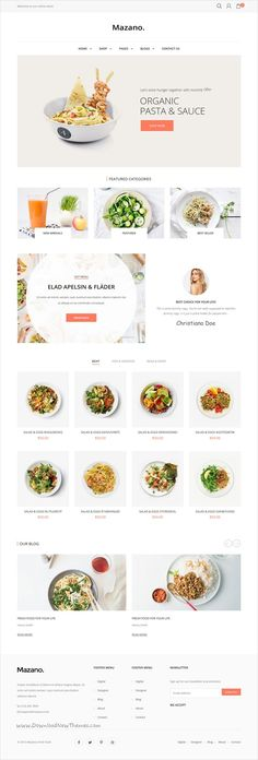 Mazano is a modern & professional responsive #Shopify theme for amazing #food shop #eCommerce websites with 18+ multipurpose homepage layouts download now➩   https://themeforest.net/item/mazano-ultimate-responsive-shopify-theme/19285574?ref=Datasata