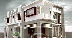 2794 square feet, 4 bedroom modern flat roof house plan by Jadeesh P S from Kerala.