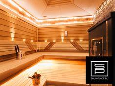 Частная баня с гималайской солью, талькохлоритом.  #sauna #баня