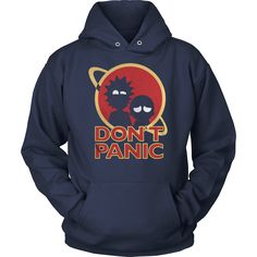 rick and morty dont panic T-Shirt, hoodie, tank top