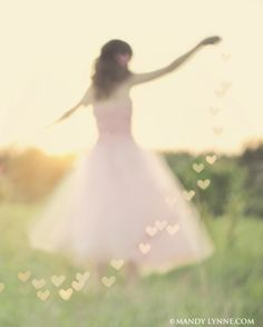Dancing in a field of sunlight... <3