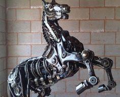 Steel Art Horse