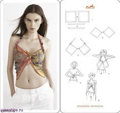 How To Tie A Scarf - Hermès Scarf Knotting Cards Vol.4 - #fashion #style #scarf #howtotieascarf