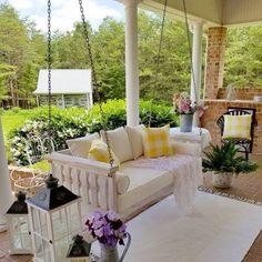 - Pergola Videos Patio Backyard - How To Build A Pergola For A Wedding Home Design, Design Shop, Interior Design, Porch Kits, Porch Ideas, Backyard Ideas, Roof Ideas, Summer Porch, Summer Days