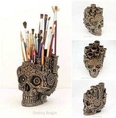 Skull Organiser by Dmitriy Bragin - Steampunk Tendencies - Google+
