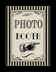Wedding/ Parties Gifts Cards & Photo Booth by paperbleudigitals