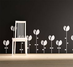 Tulip Wall Decals from Magic Walls