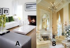 Couch time! A or B?