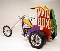 (Ed Roth 'Mail Box' Trike)