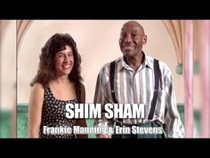It's a fun dance to do! - Shim Sham Shimmy featuring Frankie Manning & Erin Stevens - YouTube