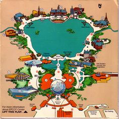 1000 images about Maps on Pinterest Worlds of fun Epcot center and Souvenirs