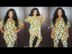 This video teaches how to cut a simple blouse which can be worn with a skirt or an African wrapper.This can made with African print Ankara fabric, lace or an...
