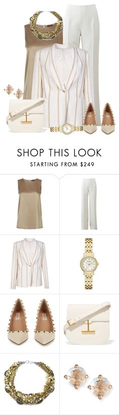 Untitled #2248 by anfernee-131 on Polyvore featuring moda, Peserico, Brunello Cucinelli, Michael Kors, Valentino, Tom Ford, Kate Spade and Suzanne Kalan