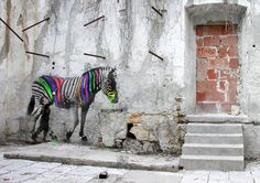 Street art by Elvio Maccheroni