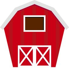 farmer clip art free barn clip art image red and white barn rh pinterest com clip art barn animals clip art barn dance