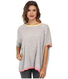 Autumn Cashmere Multicolor Rectangle Sweater - Zappos.com Free Shipping BOTH Ways