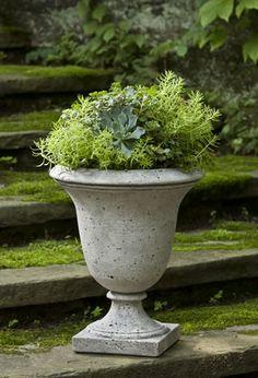 Delightful Campania International Linwood Cast Stone Urn Planter   About Campania  International Established In Campaniau2026