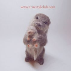 Felted otters