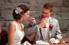 Post-wedding hair accessory.