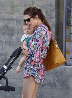 Charlotte & son - Venice Beach- California - September 2014