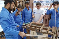 May 26: Our staff helped build 450 houses in Iraq. Photo: International Medical Corps Staff, Iraq 2013