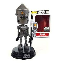 Funko Pop! Smuggler's Bounty Exclusive: IG-88 #103 (Bounty Hunters - May 2016) I got this box as a gift from Funko in January 2017 :)