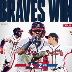 8 games up. The post Atlanta Braves: 8 games up. appeared first on Raw Chili. Suntrust Park, Mlb Nationals, Mlb Wallpaper, Golf Stores, Basketball Quotes, National League, Atlanta Braves, Sports Fan Shop, Major League