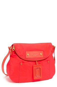 MARC BY MARC JACOBS 'Preppy Nylon - Sasha' Crossbody Bag, Large | Nordstrom (Diva Pink)