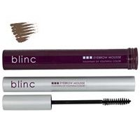 blinc Eyebrow Mousse - Light Brunette    $24.00    The BEST!!! If you have eyebrows, and just need them darker, this is the best out there. Looks natural, will not run, sweat, or smudge off. Keeps brows looking soft (not crunchy), healthy, and conditioned as well. 6 colors.