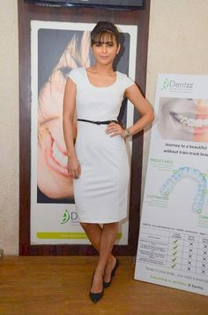 Mumbai: Actor Madhurima Tulli at Healthy Smile Healthy You Campaign Launch By Dentzz Dental Care in Mumbai