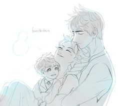 Fanart from  Frostbitten by arialenelove  best jelsa's fiction I've read. so adorable and yeah i love little henrik, he's super cute! <3<3
