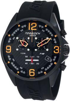 Torgoen Swiss Men's T18301 T18 Series Classic Black Aviation Watch