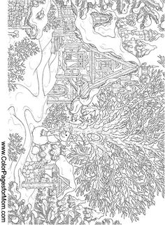 landscape coloring page 15                                                                                                                                                                                 More