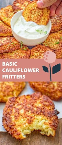 Healthy Indian Recipes, Healthy Low Carb Recipes, Vegetarian Recipes, Healthy Vegetarian Breakfast, Easy Vegetarian Dinner, Baby Food Recipes, Cooking Recipes, Cauliflower Fritters, Appetizer Recipes
