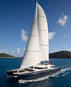 Hemisphere, designed by Van Peteghem Lauriot Prévost and built by Pendennis, is the world's largest private sailing catamaran. Read all about her in our December 2012 issue. Photos courtesy of Pendennis.