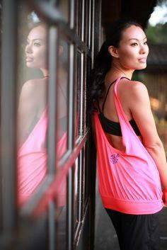 #Chaukei posing for #BaliniSports #hotyogawear #CuteYogaClothes