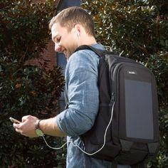 Bolsa Carregador de Energia Solar USB, LoucosPorDesign.Com - Moderno, Criativo e Original