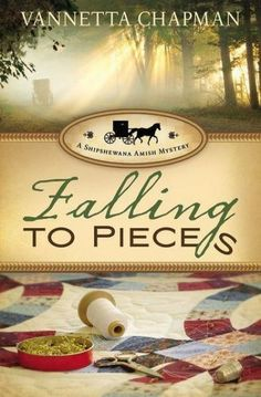 Falling to Pieces (Shipshewana Amish Series #1) - In this first book of a three-book series, author Vannetta Chapman brings a fresh twist to the popular Amish fiction genre. She blends the familiar components consumers love in Amish books---faith, community, simplicity, family---with an innovative who-done-it plot that keeps readers guessing right up to the last stitch in the quilt