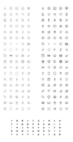 Free Wireframe Icons | sm-artists.com